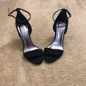Wild Diva Lounes Black High Heel Shoes (8)